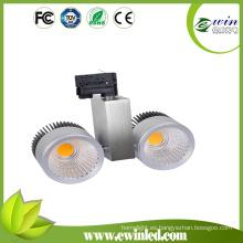 60W COB LED Luz de pista para zapatos de ropa Tiendas de cadena