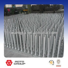 Adjustale solid /hollow Jack base/screw jack for scaffolding in mauritius