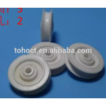 Ceramic Groove Durable Pulley Wheels for Textile Machinery