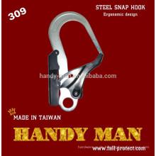 309 Double Action Stamped Stahl Ergonomie Design Snap Hook