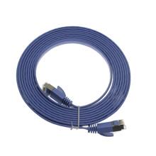 Cable de conexión plana Cat6a SSTP de alto rendimiento