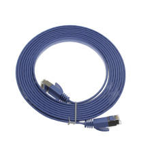 High performance SSTP Cat6a flat patch cable