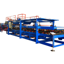 EPS PU Sandwich Roof Wall Panel Making Line roll forming machine
