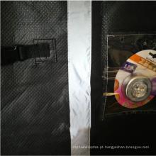 Patchwork de material reflexivo em capas de RV Capas de proteção externa para carros