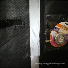 Patchwork de matériau réfléchissant dans les couvertures de camping-car Couvre-voitures de protection extérieure