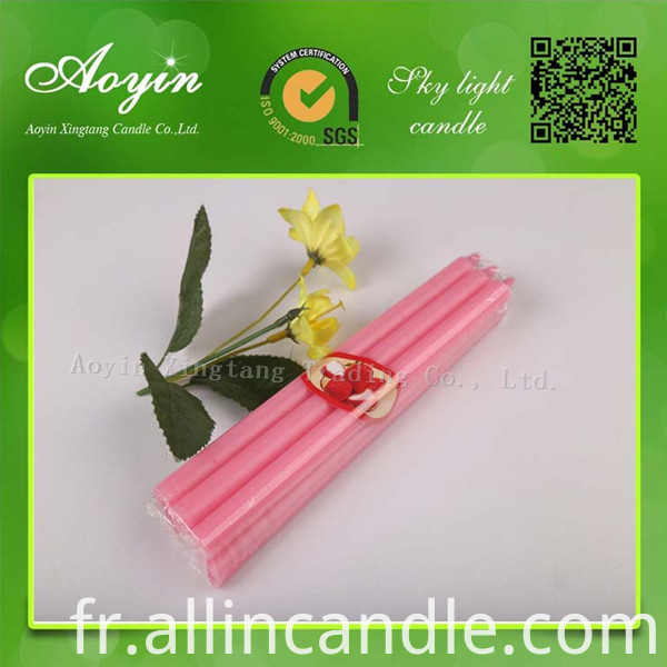 COLOR STICK CANDLES25