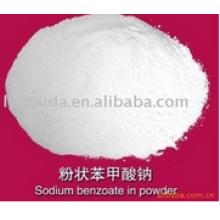 Benzoate de sodium Qualité alimentaire de qualité
