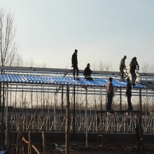 Taller ignífugo a prueba de corrosión MgO Wave Hojas para techos
