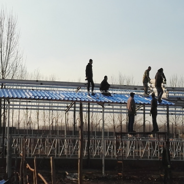 Anti-corrosion Fireproof Workshop MgO Wave Roofing Sheets