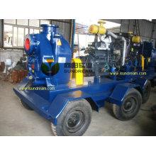 Pompe à eau de déshydratation de tempête de moteur diesel (10 pouces)