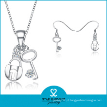 Moda sul-americana de jóias de prata Set OEM aceites (J-0146)