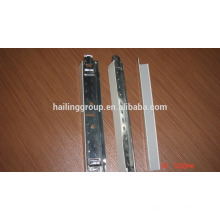 Chine Fabricant de plafond en acier matériau T-bar taille