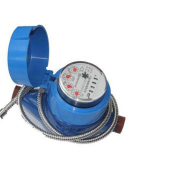 Zeiger und Wort-Rad-Kombination Zählen trinkbare elektronische Wasserzähler