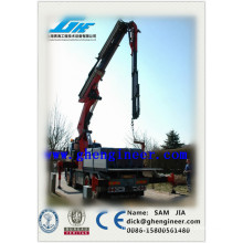 Knuckle & Telescope Boom Truck Mounted Crane