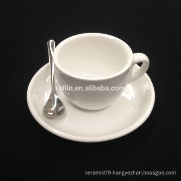 Hotel Supply Crockery Mug, Ceramic Cup for Espresso & Tea, Porcelain Cup & Crockery Mug
