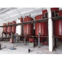 línea de producción de aceite de girasol