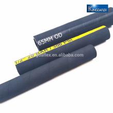 1 tuyau d'air en caoutchouc enveloppé par tissu industriel de 2 pouces
