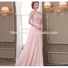 junoesque étage longueur demoiselle d'honneur robe dentelle robe de soirée