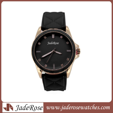 2016new Style Women′s Watch with Silicone Band