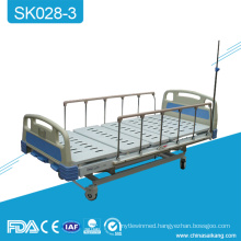 SK028-3 Multi-Function Hospital Crank Metal Hospital Bed