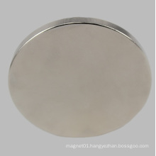 Permanent Neodymium Magnet Disc NdFeB Disk for Speaker Motor Sensor with Nickel Plated