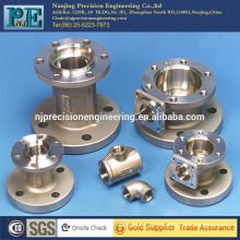 Customized casting flange assemble shaft sleeve