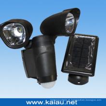 Lâmpada de segurança solar LED 6W