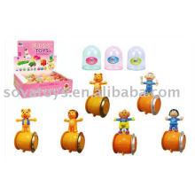 Plástico enrolar brinquedos polia