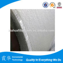 Tissu filtré en fibre de verre tissé à haute température