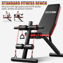 Sport Exercise Folding Flat Weight Gym Bench Adjustable Muscle Training Bench