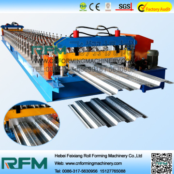 Manufacturing Galvanized Floor Decking Roll Forming Machine