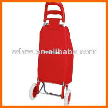 Wheeled shopping cart trolley