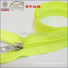 no. 5  colored nylon zipper for mosquito net for sale