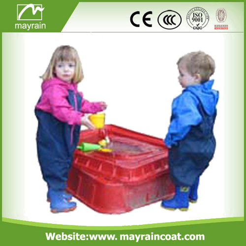 Children Colorful Polyester Rainsuit