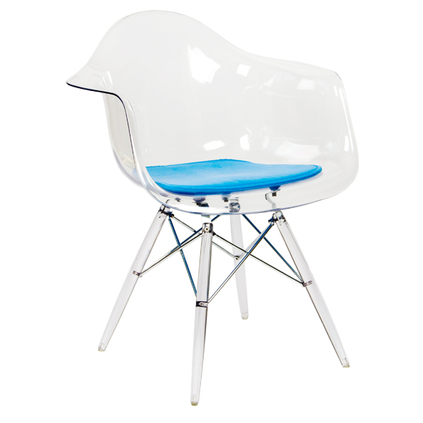 Transparent Eames Chair