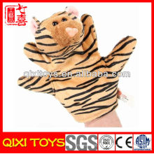 Plush Forest Animal fantoche de mão brinquedo educativo tigre educacional