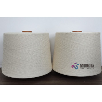 Compact Spinning Cotton Yarn CF50 For Bedsheet