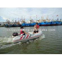Малые стекловолокна надувная лодка RIB300