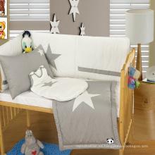 Juego de cama de algodón orgánico bebé