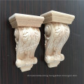 hand carved wood corbel for home decoration