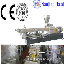 Hs CE&ISO9001 PP/PA Screw Extrusion Plastic Recycling Pellet Machine
