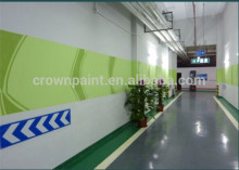 Scratch Resistant Solvent Free Epoxy Wall Coating Paint