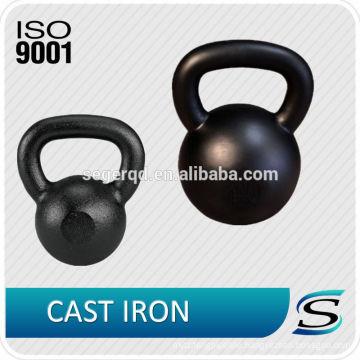 cast iron kettle bell 4~48kgs customized