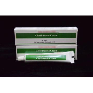 Quality for Antifungal Drugs, Griseofulvin Drugs, Clotrimazole Drugs in China Clotrimazole Cream BP 1%/20g export to East Timor Suppliers