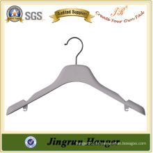 Bestsell Plastic Hanger Maker Plating Kleiderbügel mit Locking Bar
