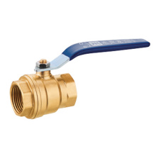 Brass Ball Valve, Two-Piece, Standard Port, NPT x NPT