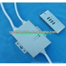 Sincronización RF 4 teclas LED Controller