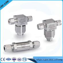 Válvula de filtro de acero inoxidable, válvula de filtro de bypass