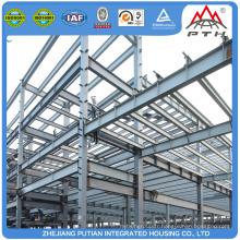 Bâtiment de structure en acier moderne moderne de l'Amérique