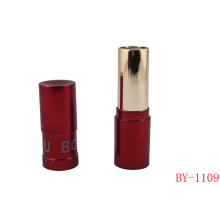 Fashion Cylinder Hot Red Lipstick Tube